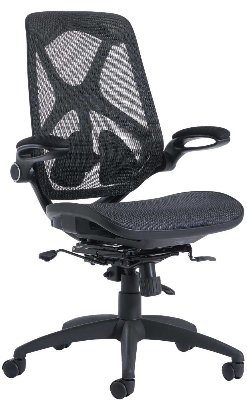 white mesh office chair uk round kitchen table and chairs set napier back seat