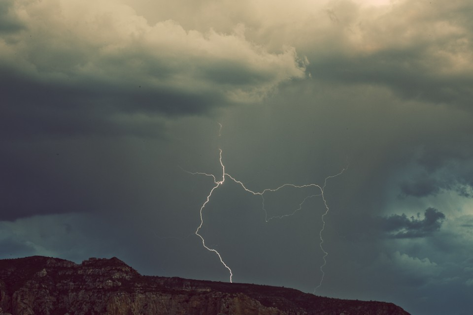 Lightning Photography Sedona Arizona
