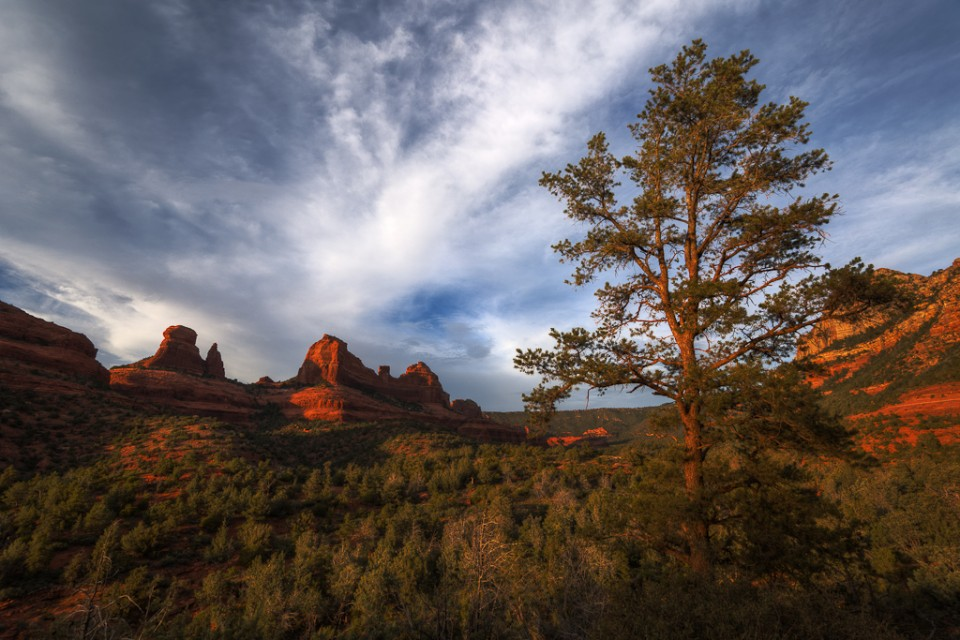 The Guardian - Sedona Arizona Sunset