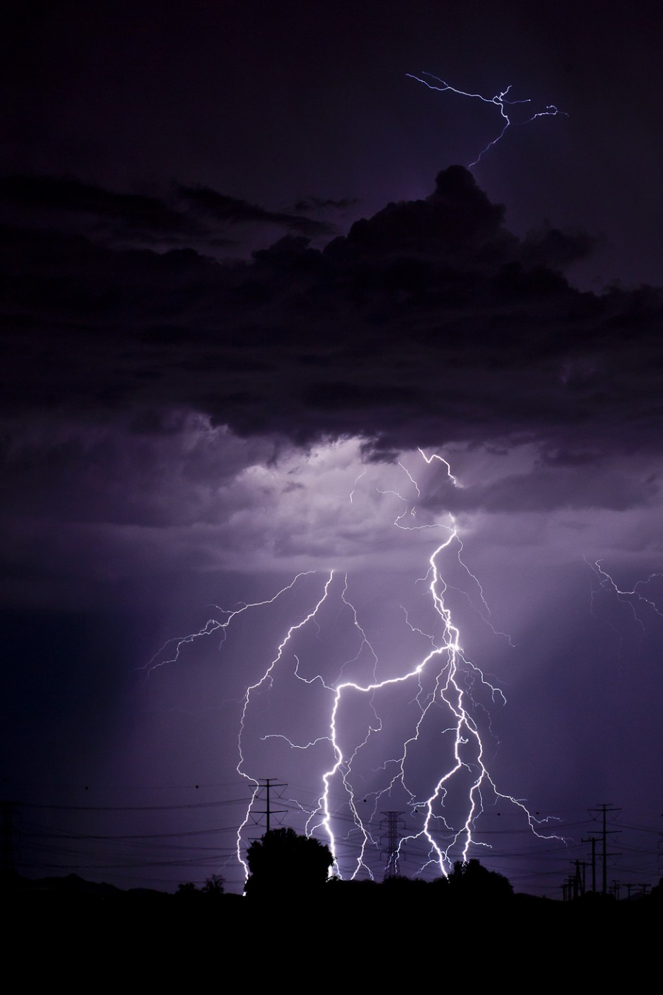 Over the Top - Arizona Monsoon Lightning