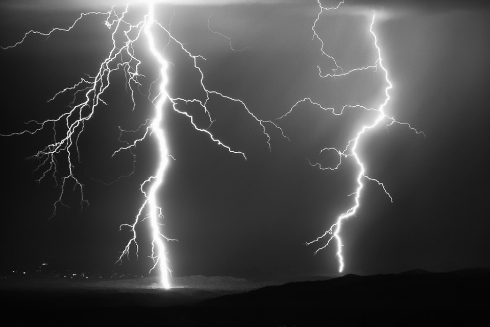 Intensity - Arizona Monsoon Lightning
