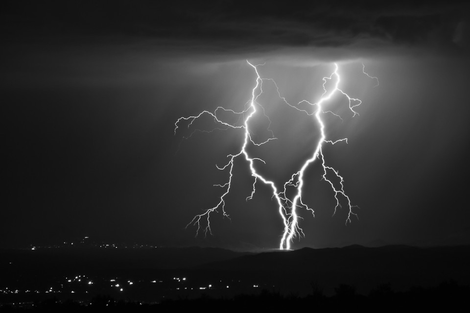 Symmetry - Arizona Monsoon Lightning