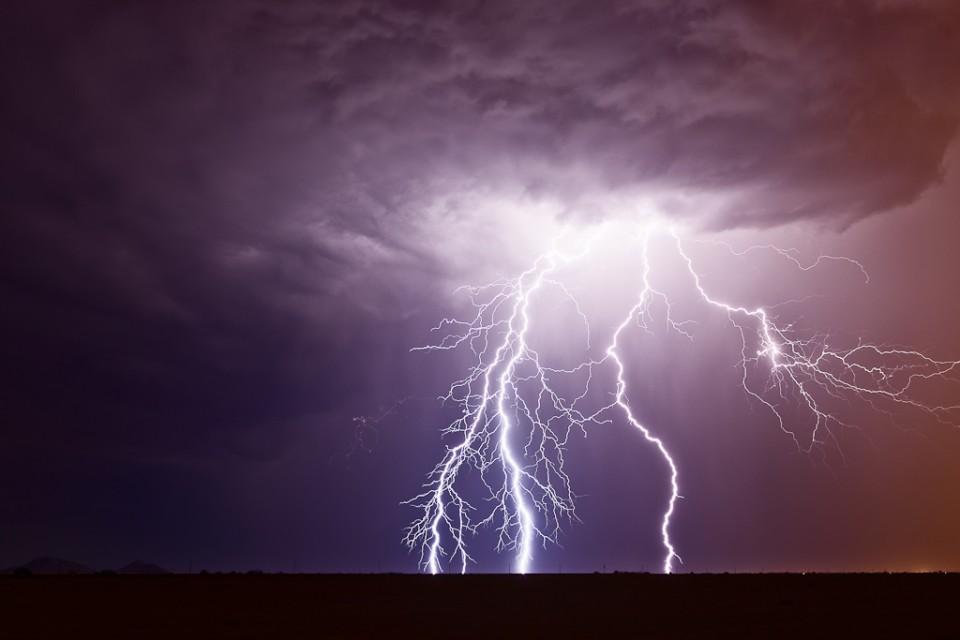 Fingers - Arizona Monsoon Lightning