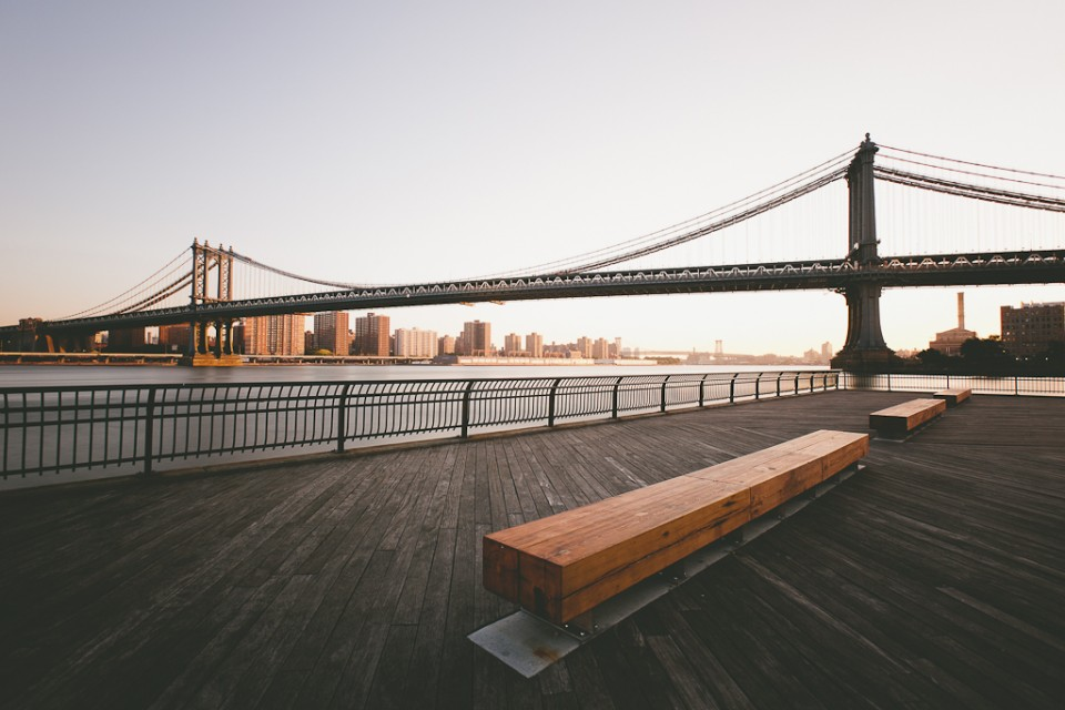 Brooklyn Bench - Dumbo