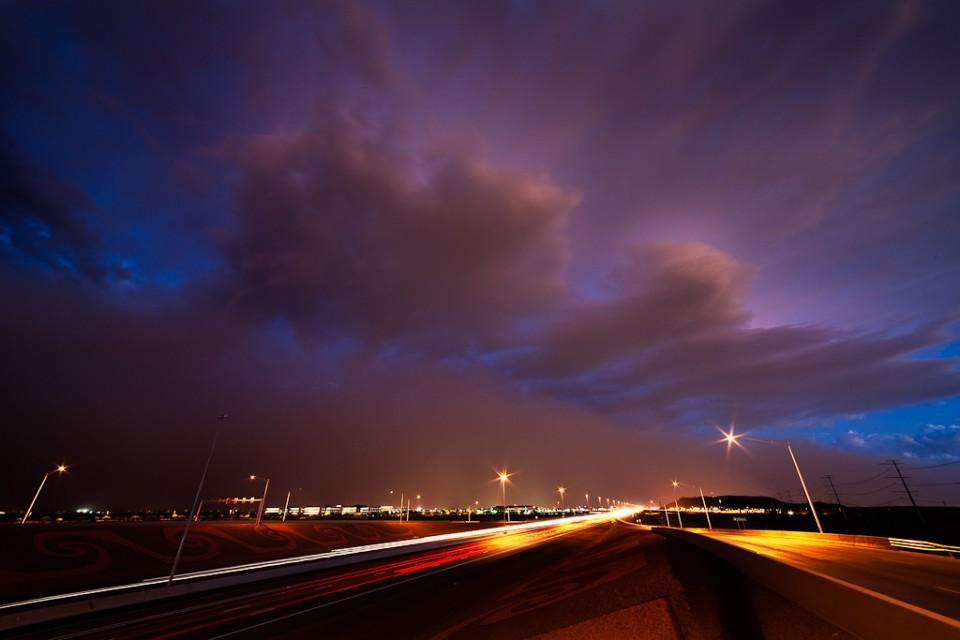 Dust Storm Haboob Jomax Road Arizona