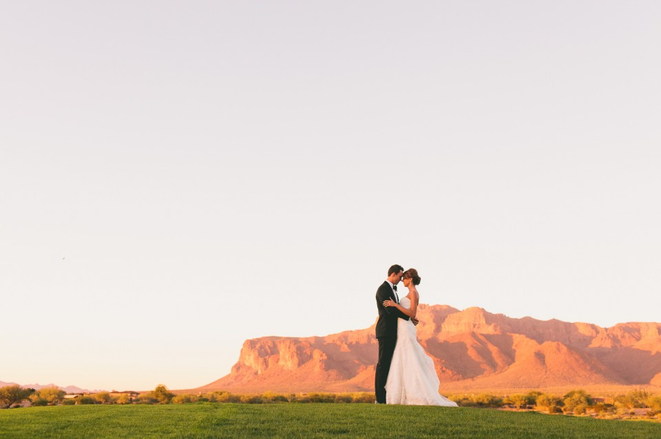 Wedding Phoenix Superstition Mountain Golf Club