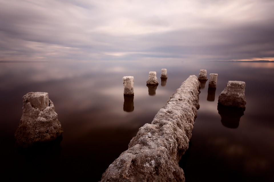 The Calm on Salton Sea
