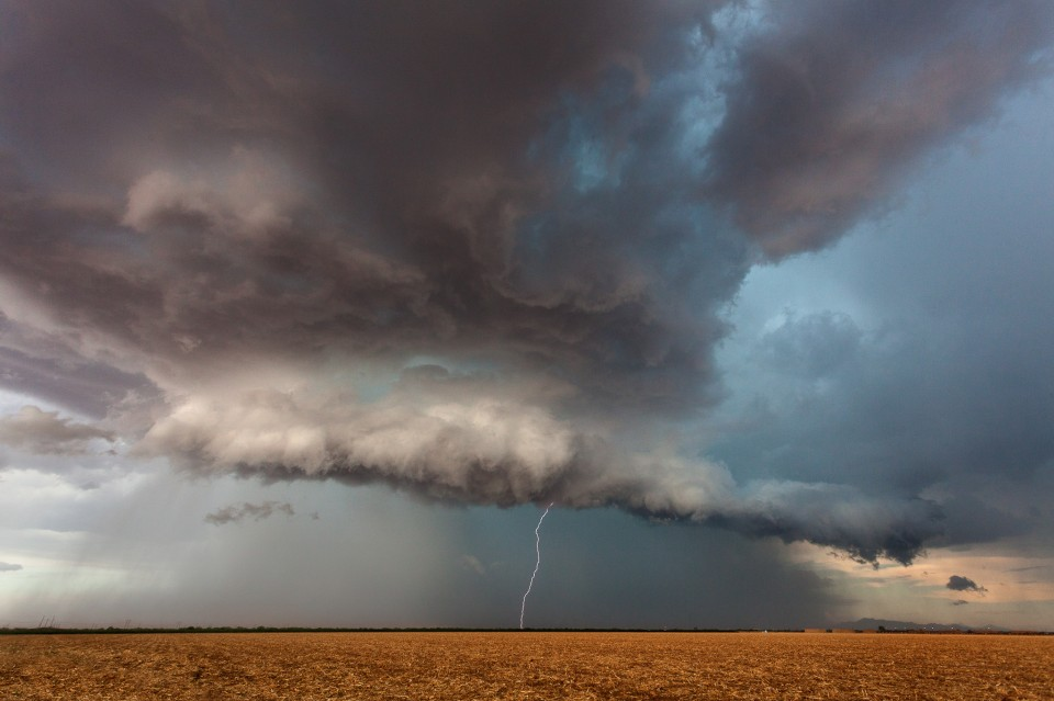 An Arizona supercell