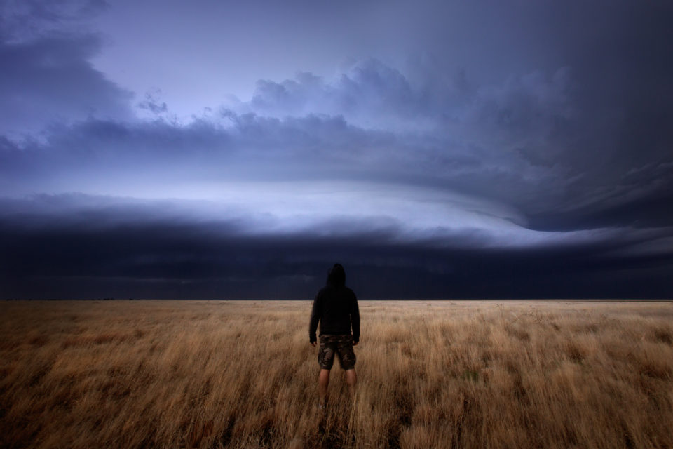 Sometimes I wish I could just stand and watch a storm like this and not rush around trying to capture it with a million cameras. To just be in awe of God's majesty and creation without agenda. Sometimes I forget that's where my love of storms began. Being there and watching.