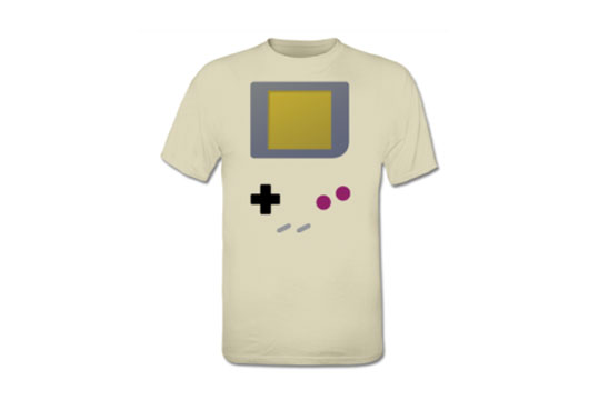 nintendo game boy 1989 games console t shirt