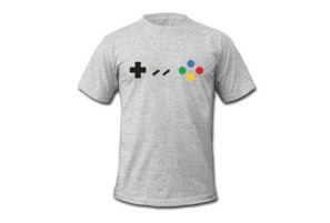nintendo snes famicom gaming controller tshirts and apparel