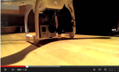 how to extend dji phantom 2 landing grear cheaply and easily without modifying the phantom