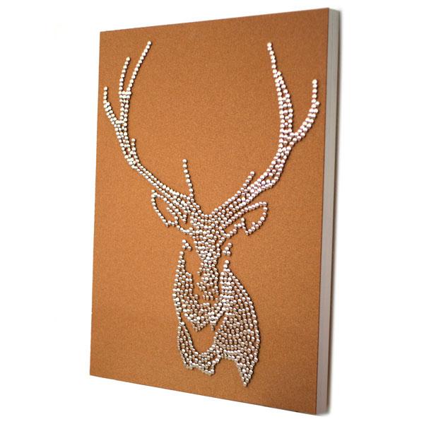 Drawing Pin Stag Deer