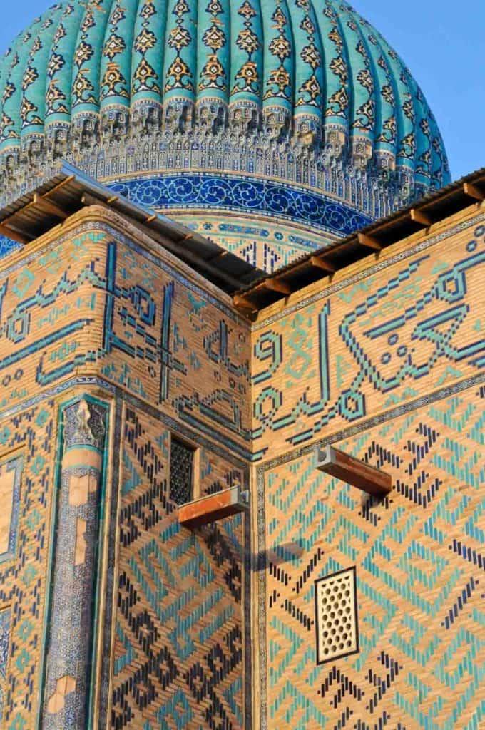 Mausoleum of Khwaja Ahmad Yasavi, Turkistan, Kazakhstan