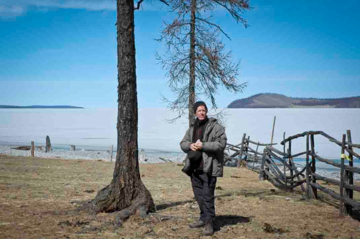 Yours truly by Lake Khovsgol, Mongolia.