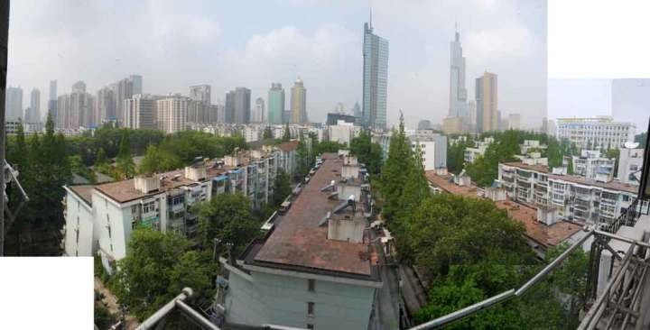The view from my Nanjing apartment window.