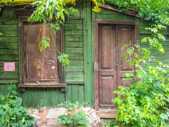 Overgrown old-stuff, Old Tartarstan, Kazan.