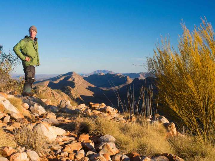 The view from Counts Point on the Larapinta Trail.