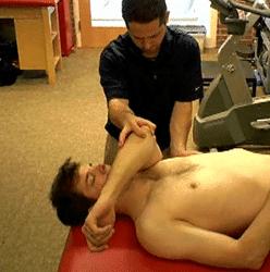 shoulder muscle energy technique