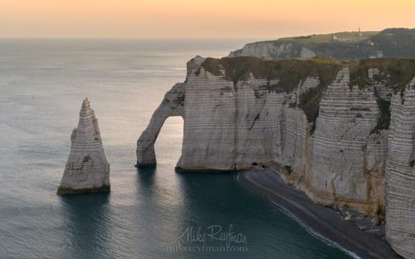 Etretat Cliffs Normandy France