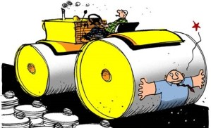The Fundraising Steamroller