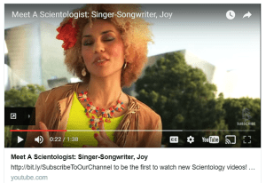 Scientology Shill Joy Villa Plays the Trump Card