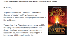 Dianetics Survey