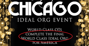 The Final World Class Ideal Org…
