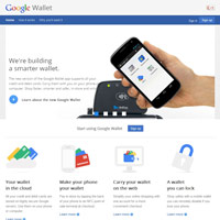 Google Wallet screenshot