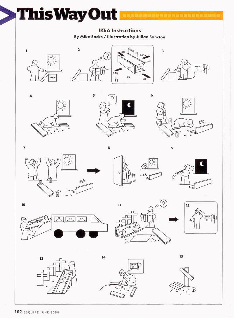MikeSacks » Ikea Instructions