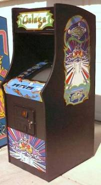 New Midway Galaga Upright Cabinet