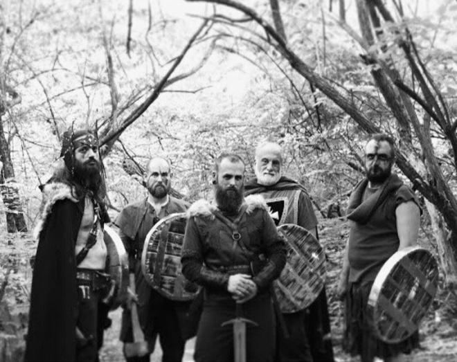 Joshua Peebles and his Sheildbearers