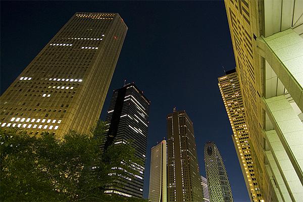 Shinjuku Night View Tokyo Skyscrapers