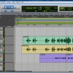 Pro Tools 9 Edit Window