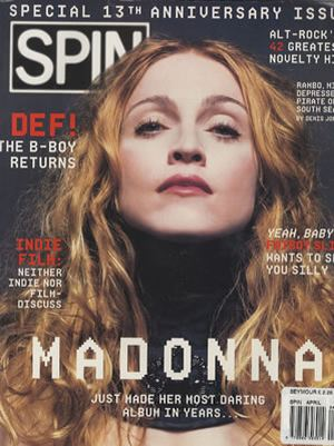 SPIN Magazine 13th Anniversary Issue April 1998