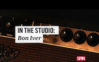 In the Studio: Bon Iver