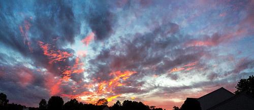 """September Sunset in Northern Virginia"" in Flickr Explore, Sep 8, 2014 #214"
