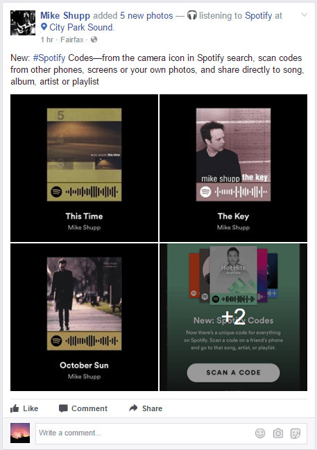 New: Spotify Codes | Mike Shupp
