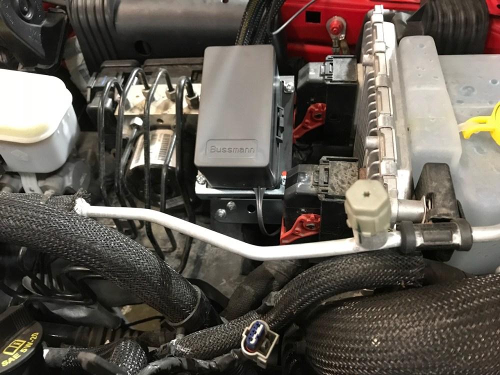 medium resolution of relay panel mounted