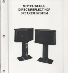 bose 901 speaker manual images gallery [ 832 x 1088 Pixel ]
