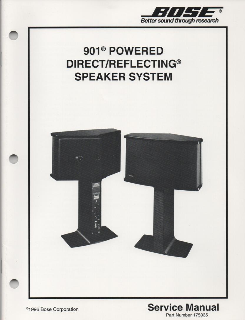 hight resolution of bose 901 speaker manual images gallery
