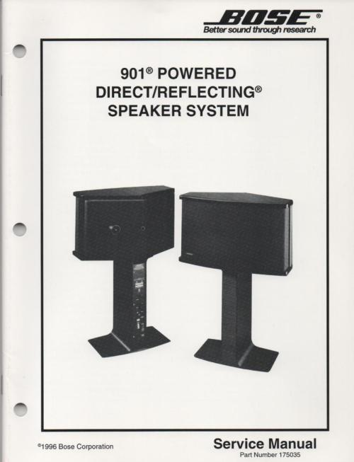 small resolution of bose 901 speaker manual images gallery