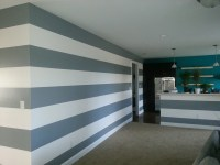 Wall Painting Horizontal Stripes Ideas - Bedroom And Bed ...