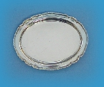 Miniature silver meat plate