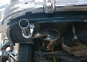 Stainless Steel Exhausts Mike Stokes Tryes Bournemouth and Poole