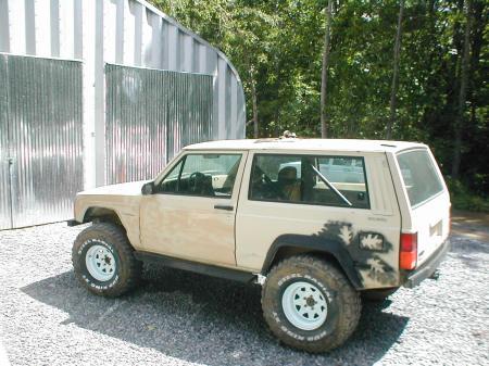 Jeep Cherokee off road XJ