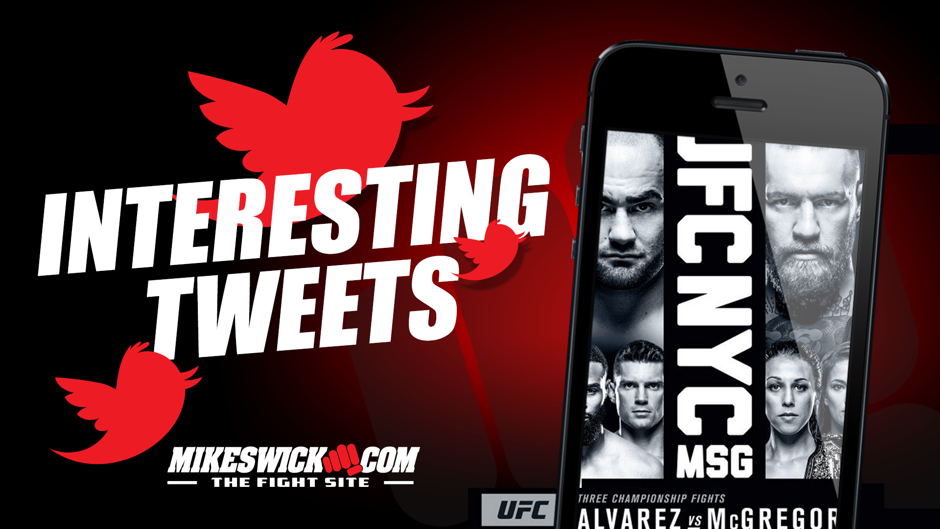 Fighters interesting tweets MikeSwick.com