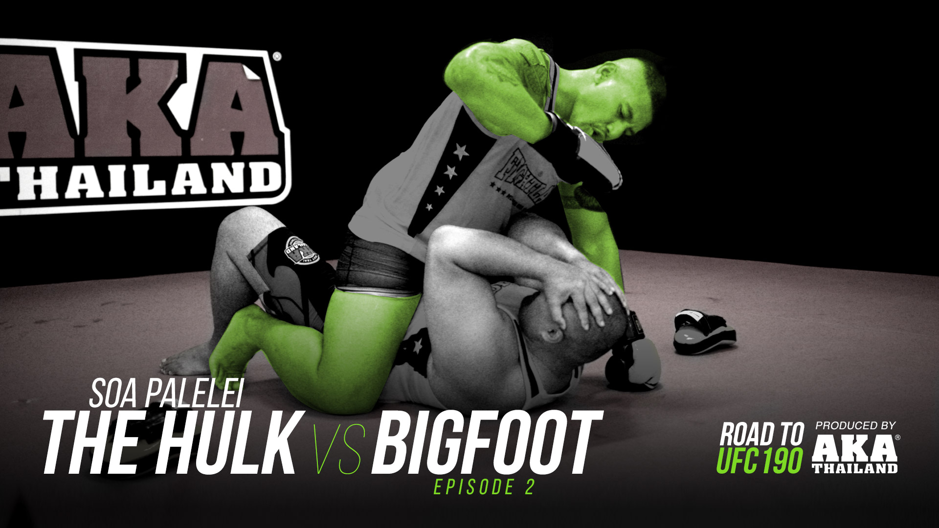 Soa Palelei: The Hulk vs. Bigfoot - Ep #2: Island Life - UFC 190