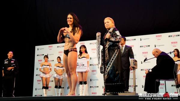 RIZIN 2016 GP Final Weigh-In Highlights: Cro Cop No-Showed.