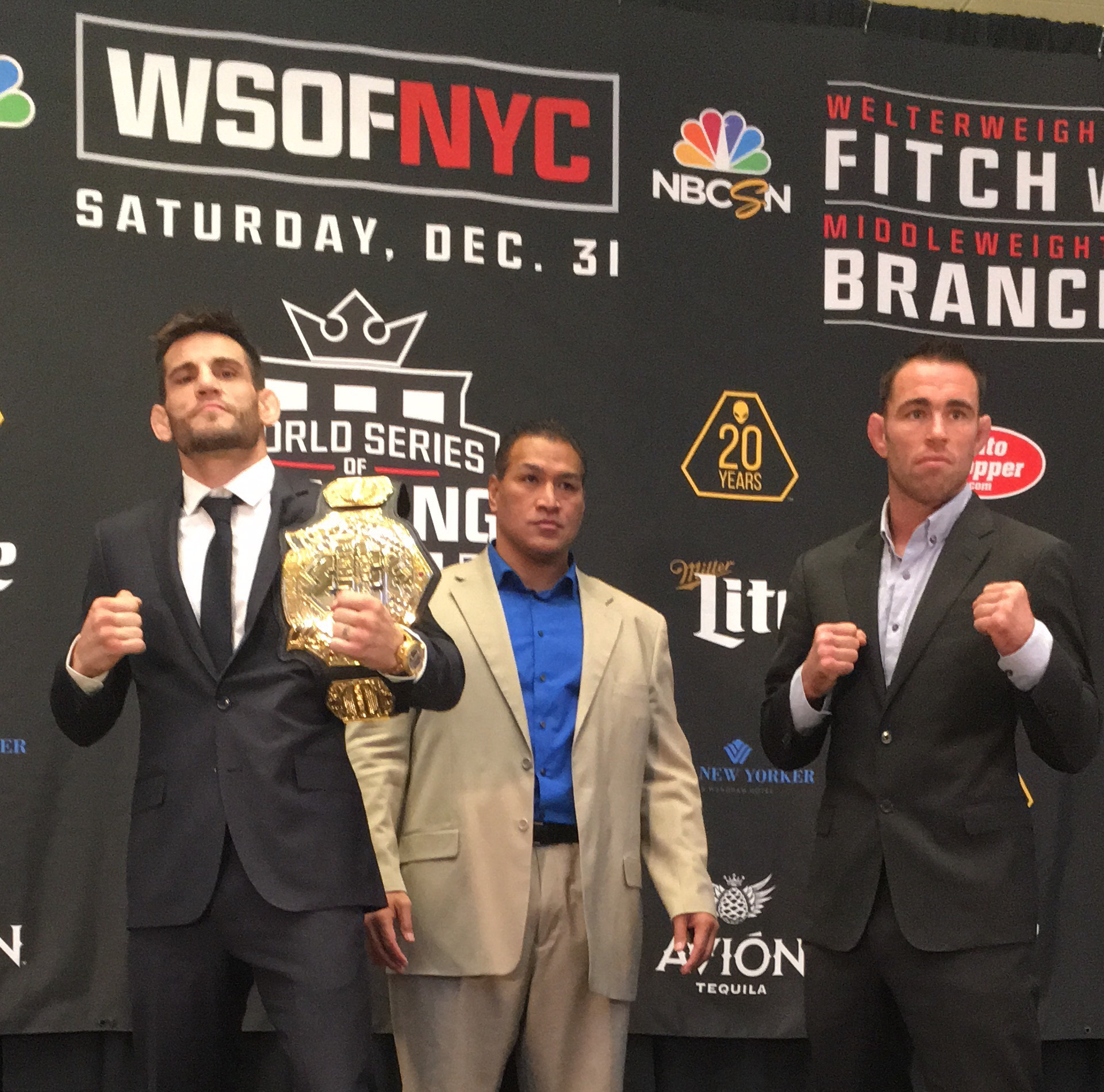 WSOF NYC Open Workout and Press Conference Highlights
